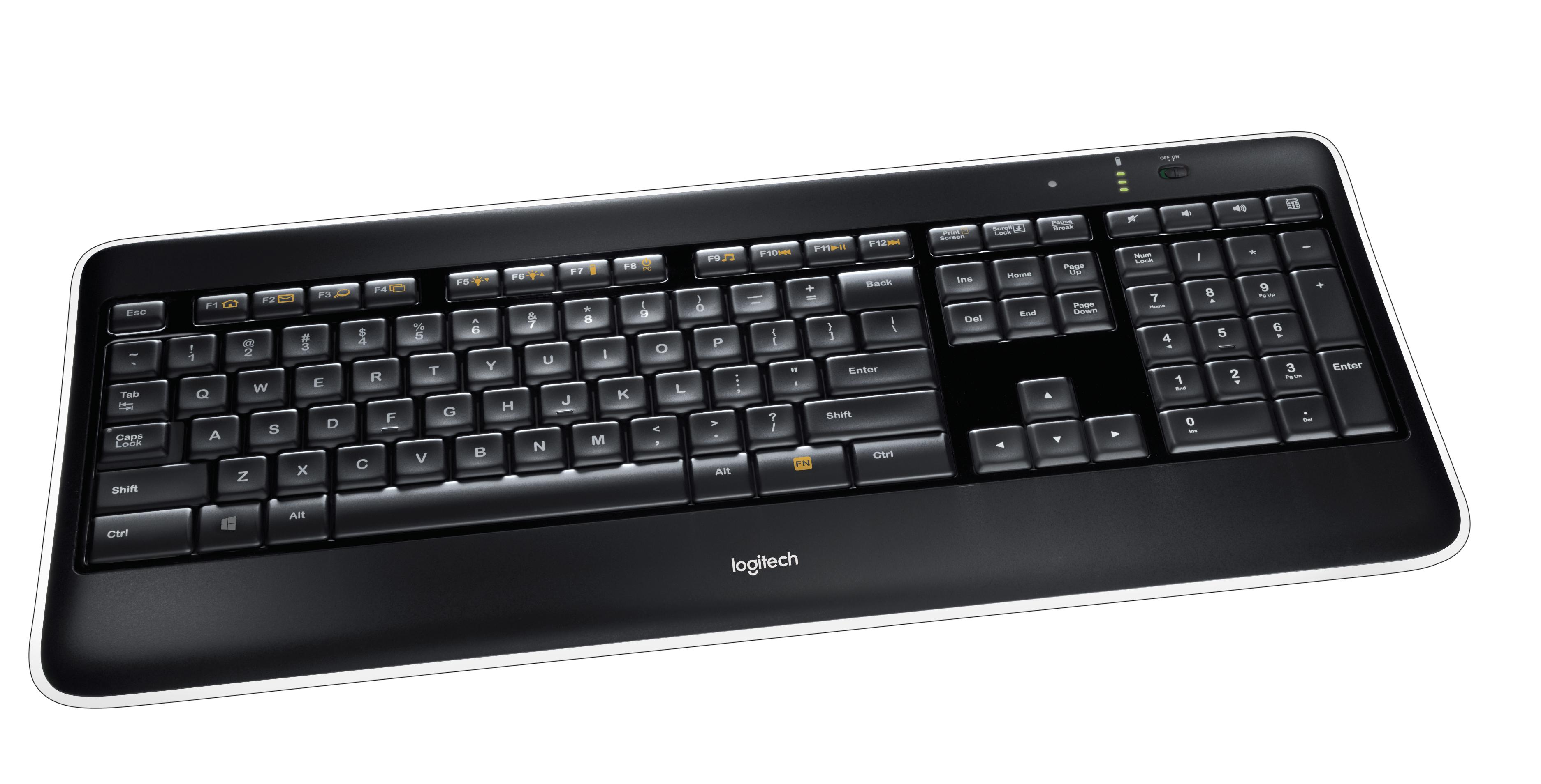 K800 Wireless Illuminated Keyboard (Qwerty US)