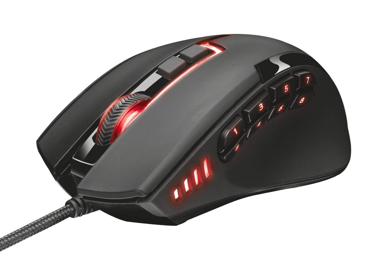 Sikanda GXT 164 MMO Mouse (12 knoppen, USB)