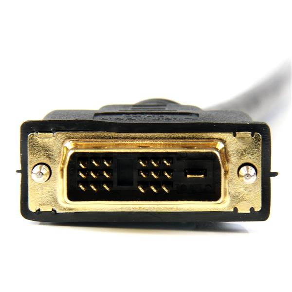 HDMI naar DVI-D kabel M/M (2 meter, zwart)
