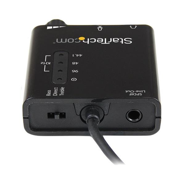 USB Stereo Audio Adapter External Sound Card (SPDIF Digital Audio)