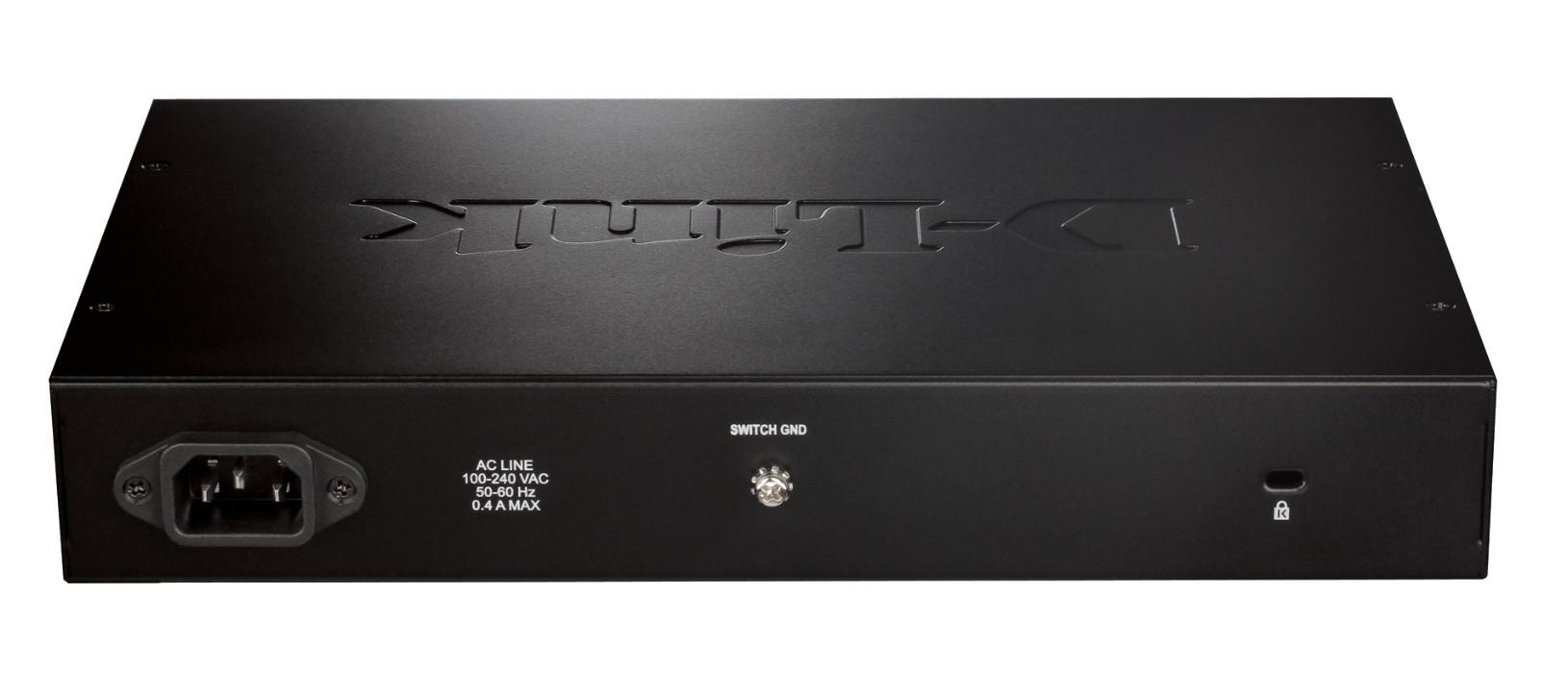 DGS-1016D/E Switch (16 poorten 10/100/1000 Mbps, desktop)