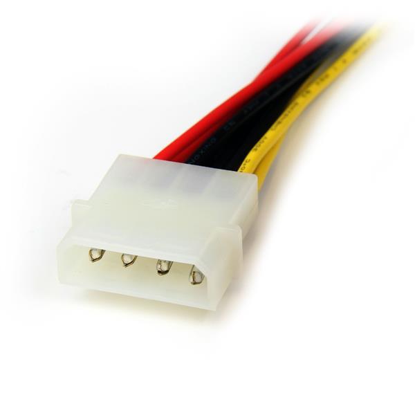 LP4 naar 2 S-ATA voedings splitterkabel