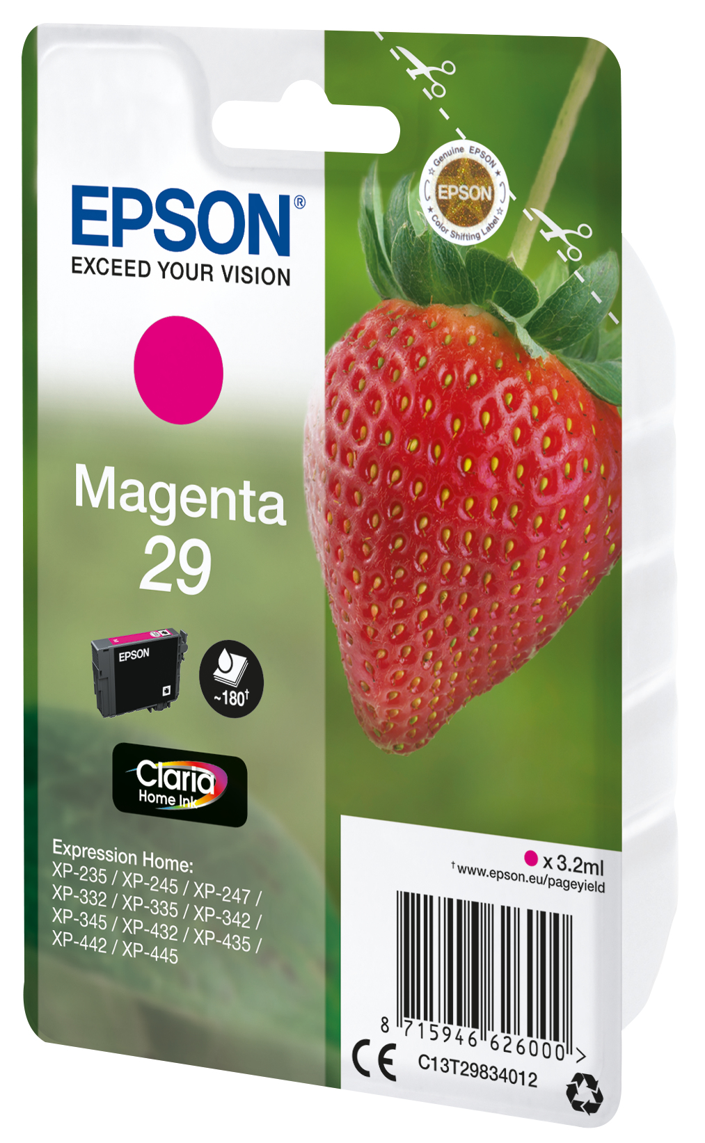 T2983 inkjetcartridge 29 magenta