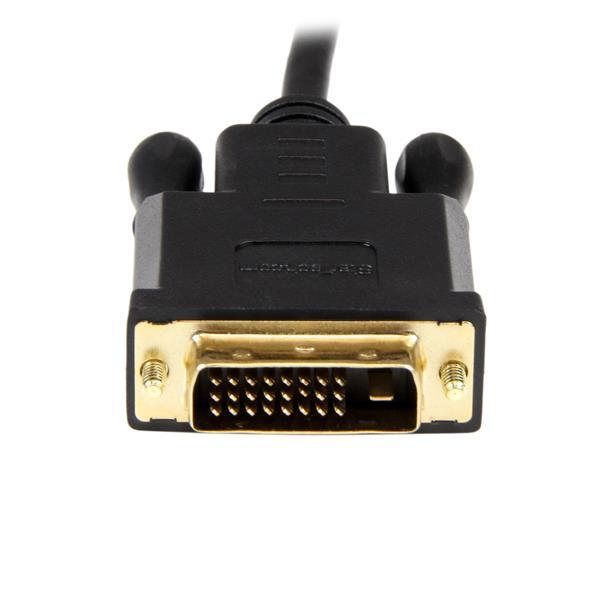 DisplayPort naar DVI Active Adapter Converter kabel (90 cm, zwart)
