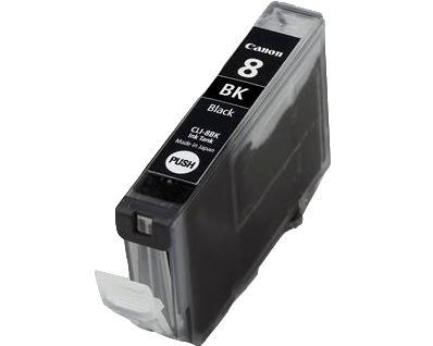CLI-8BK inkjetcartridge zwart (13 ml, 420 afdrukken)
