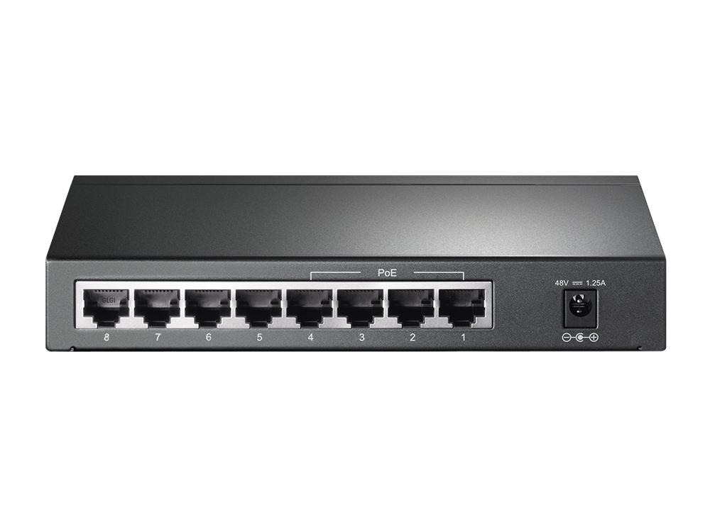 TL-SG1008P Gigabit Switch (8 poorten)