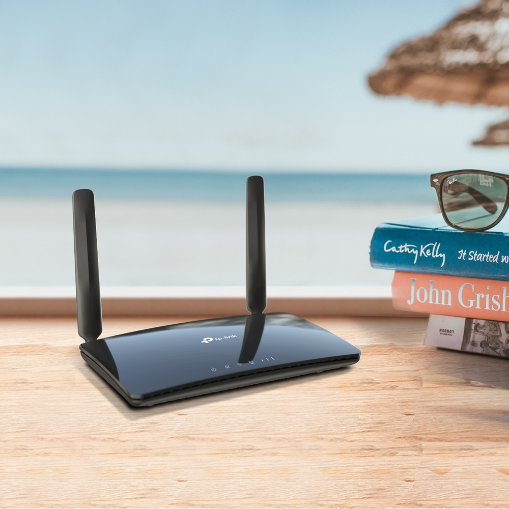 Archer MR400 Wireless router (WWAN, 3-poort switch, 802.11a/b/g/n/ac, dual band)