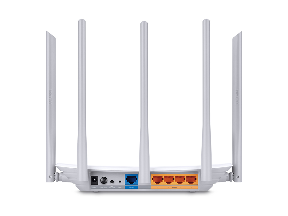 Archer C60 AC1350 Wireless Dual Band Router (4-poort switch, 802.11a/b/g/n/ac, dual band)