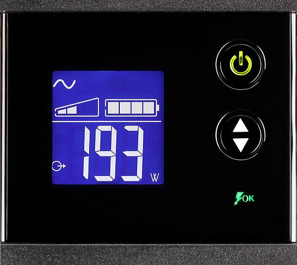 """Ellipse PRO 650 UPS (AC 230 V, 400 Watt, 650 VA, 7 Ah, USB, 4 output connectors, 2U, 19"""")"""