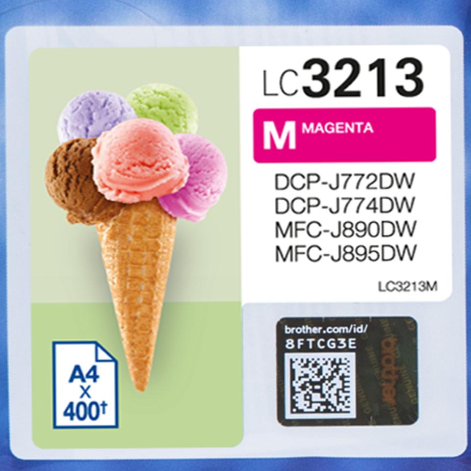 LC3213M inkjetcartridge magenta (400 afdrukken)