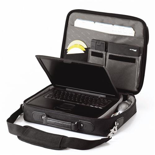 CN01 Notepac (zwart, nylon)