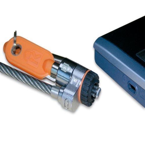 Slim Microsaver (staalkabel 1,80 meter met slot voor notebooks, projectoren, TFT's)