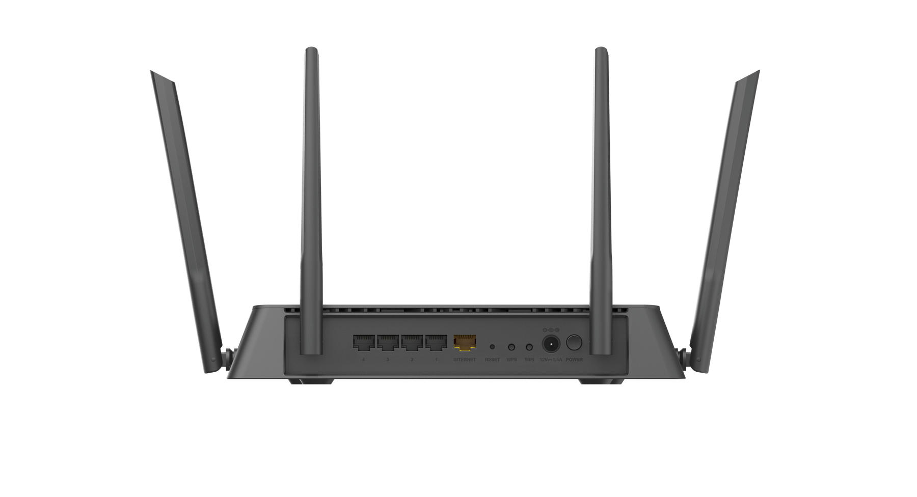 DIR-878 Wireless router (4-poort switch, GBLAN, 802.11a/b/g/n/ac, dual band)