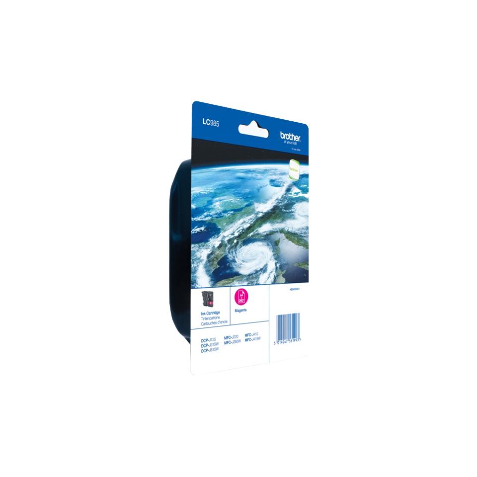 LC985M inkjetcartridge magenta (260 afdrukken)