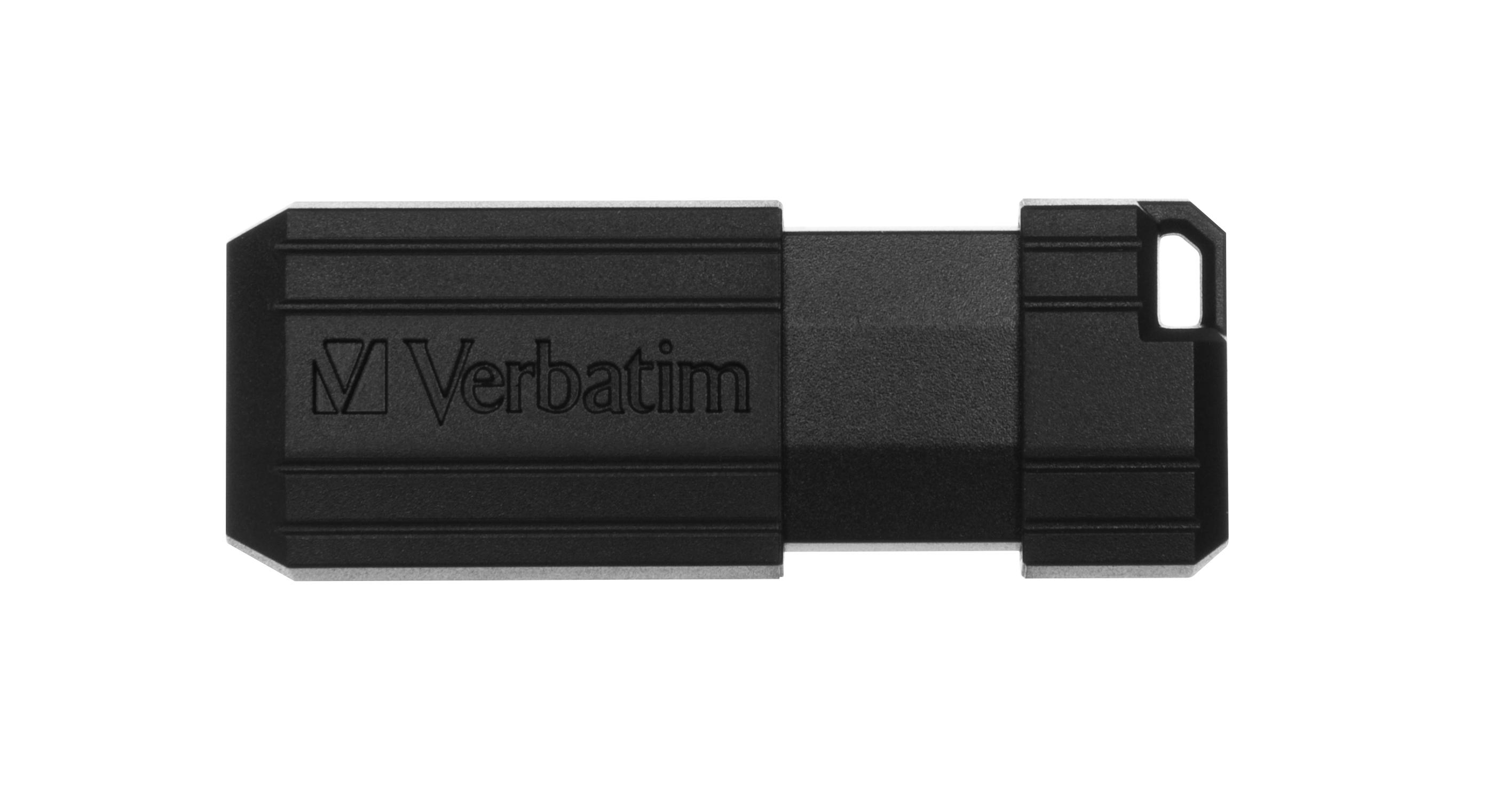 USB Memory Pinstripe 32 GB (zwart)