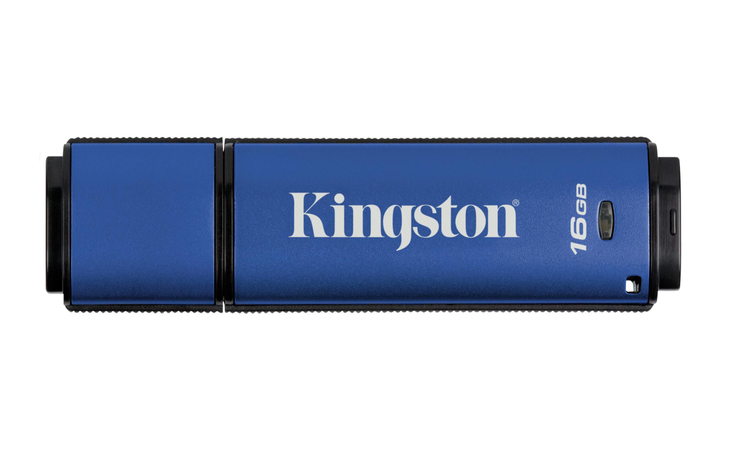 DTVP30 USB-Stick 16 GB (256-bit AES Encrypted, USB 3.0)
