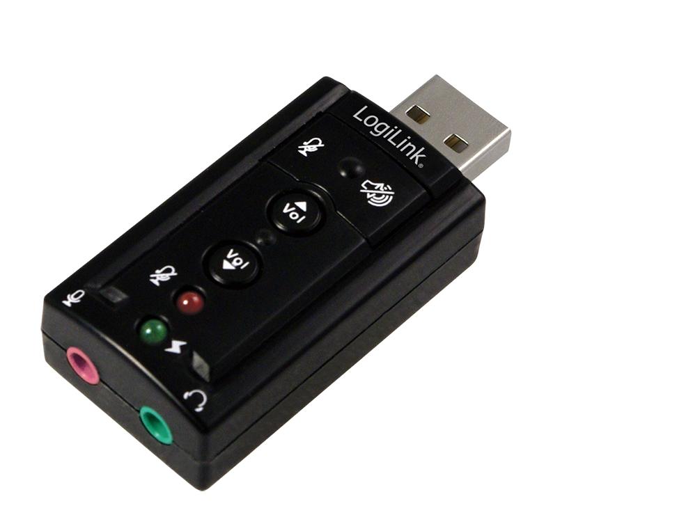 USB 2.0 Audio Adapter 7.1 Surround