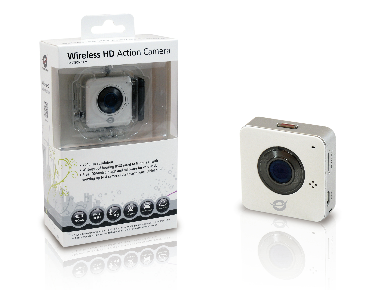 CACTIONCAM Wireless HD Acion Camera