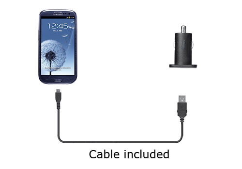 Car Charger met Micro-USB kabel