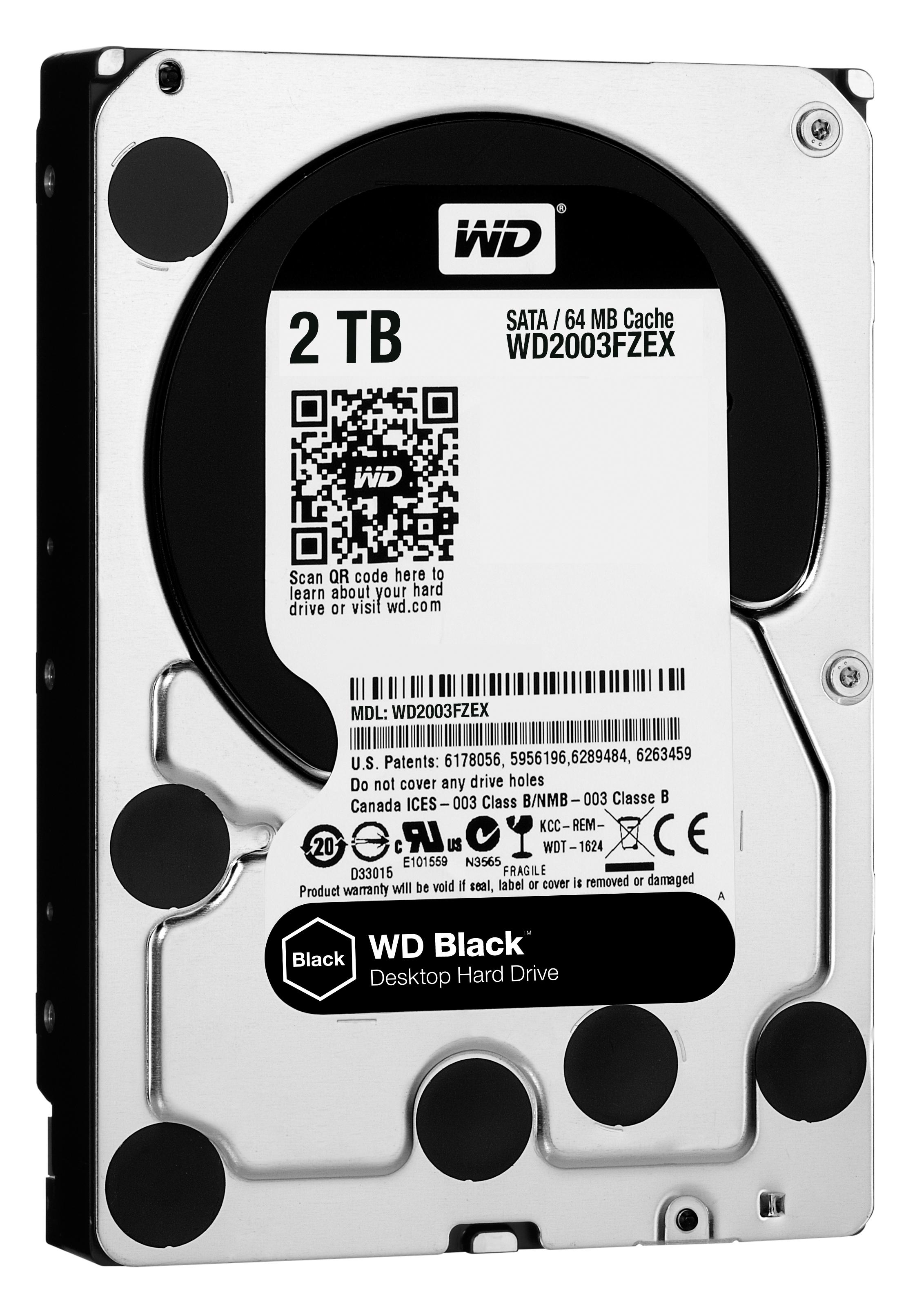 2000 GB WD2003FZEX Black (64 MB cache, SATA 6 GB/s, 7200 rpm)