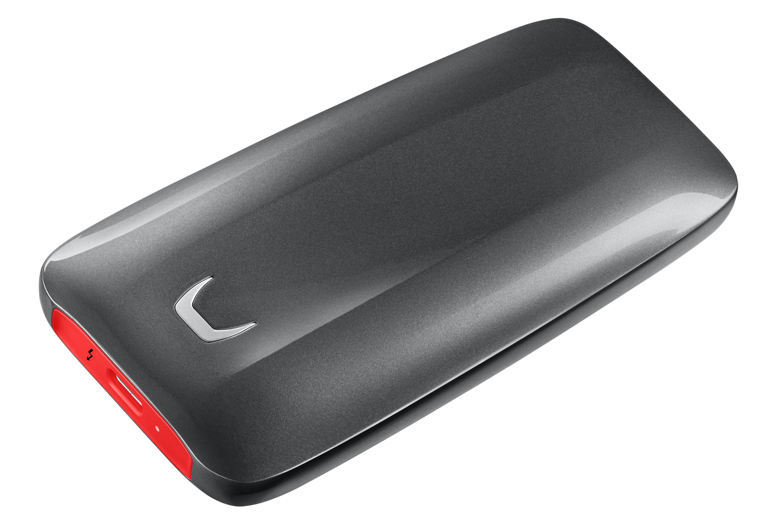 1000 GB MU-PB1T0B/EU X5 Portable SSD (PCI Express NVMe, USB-C, 256-bit AES)