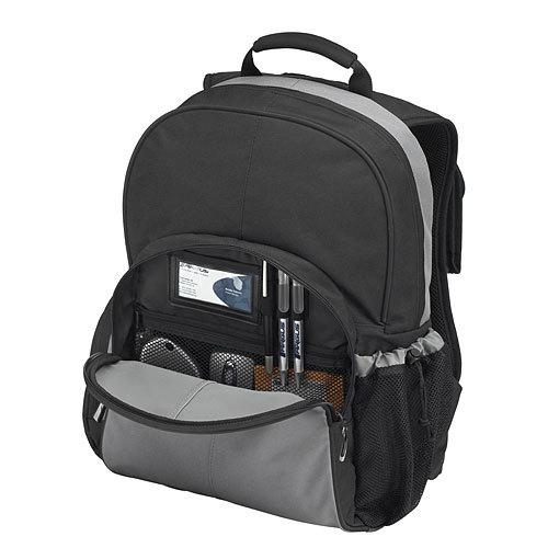 TSB023EU Essential Notebook Backpac (zwart/grijs)