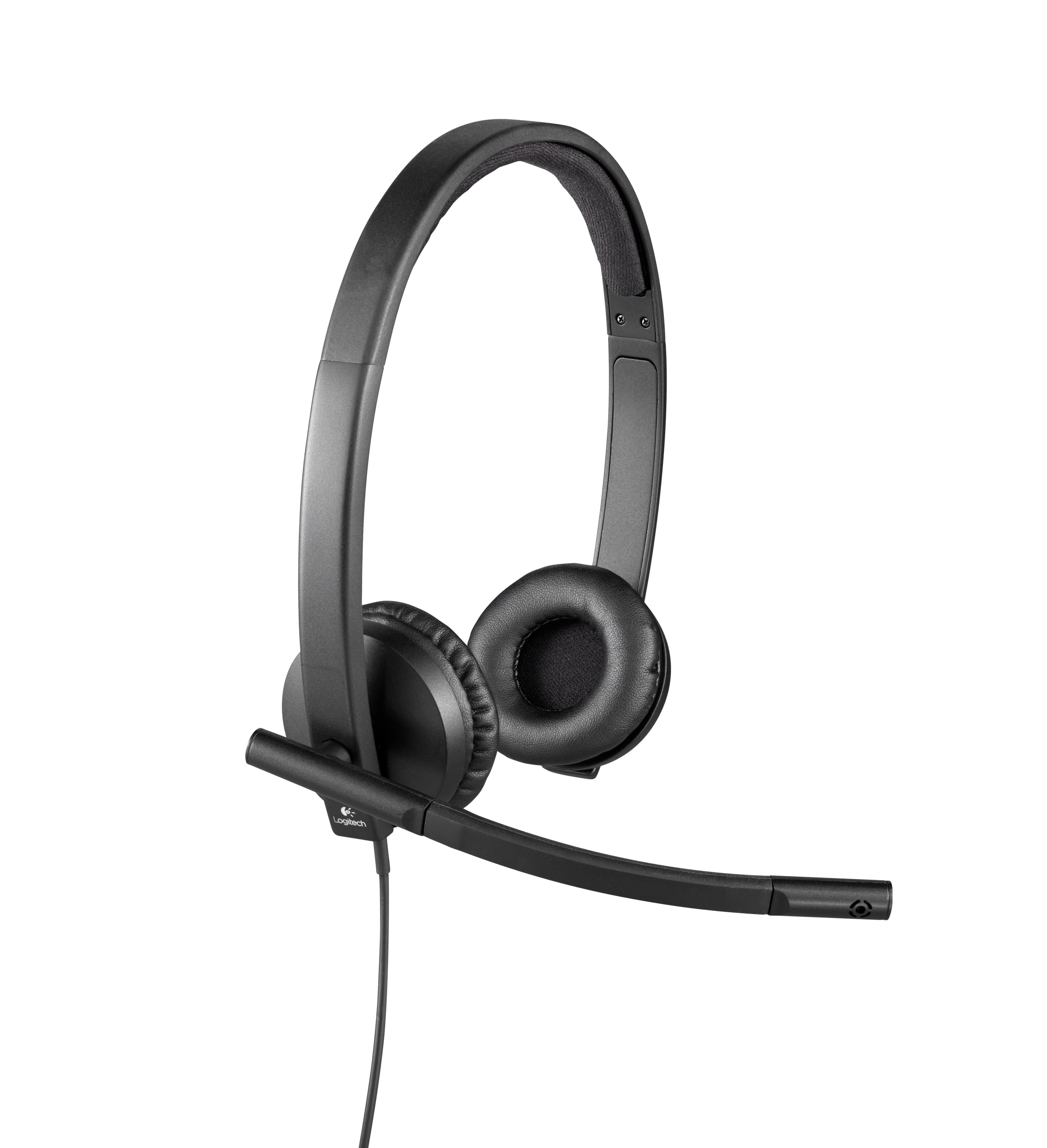 H570e Headset (stereo, on-ear, USB)