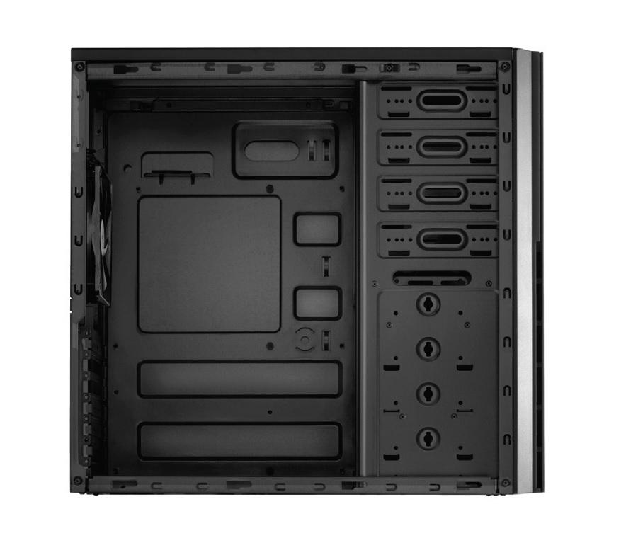 VSK 4000B-U3/U2 Tower (ATX, USB 2.0 & USB 3.0, audio)