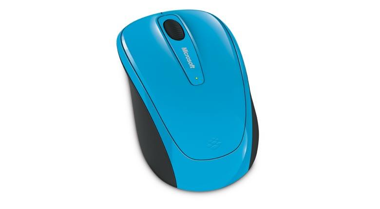 L2 Wireless Mobile Mouse 3500 (USB, Cyan Blue)