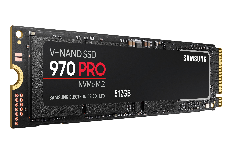 512 GB MZ-V7P512BW 970 Pro (encrypted, M.2 2280, PCI Express 3.0 x4 NVMe, 256-bit AES, TCG Opal Encryption 2.0)