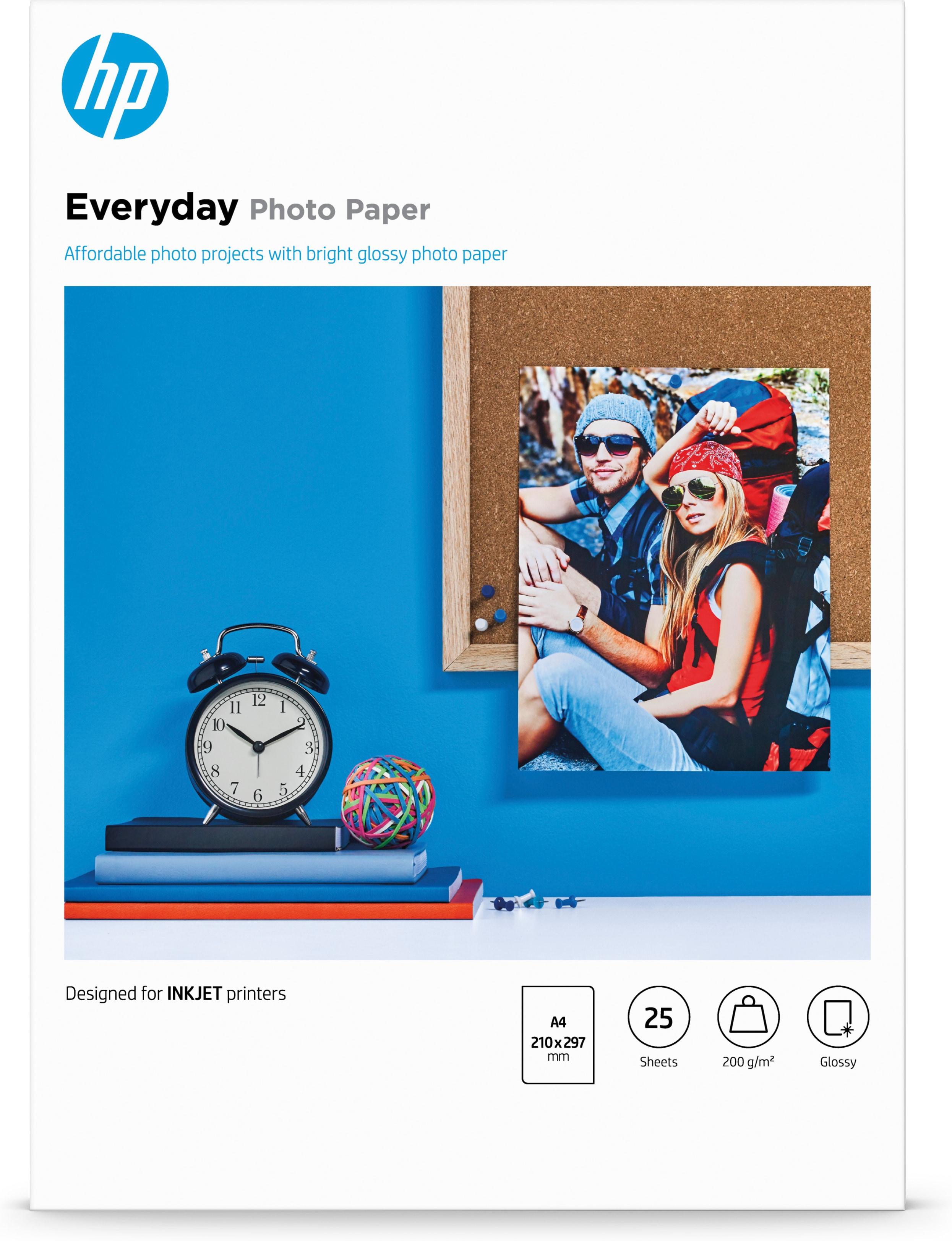Q5451A Everyday Photo Paper Semi-glossy (A4, 170 g/m², 25 vellen)