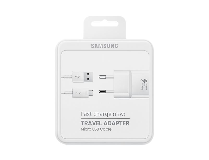 EP-TA20EWEU Fast Charge Adapter (micro-USB, 15 Watt)