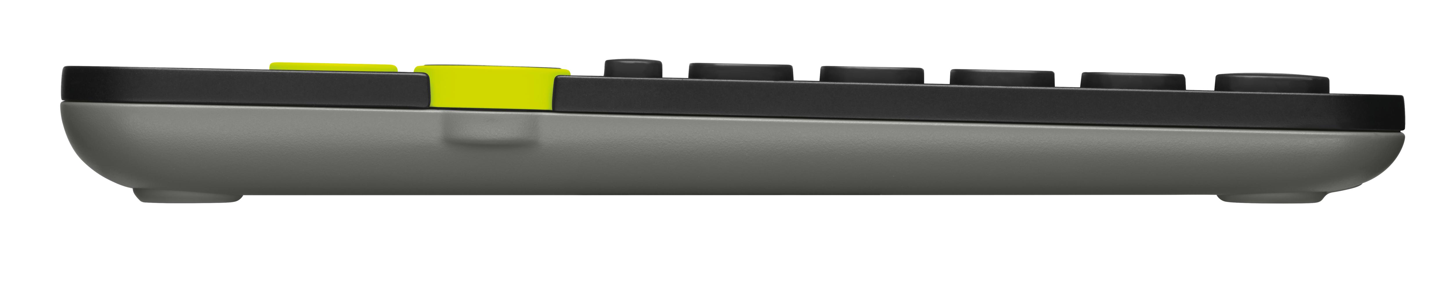 K480 Bluetooth Multi-Device Keyboard (zwart, Qwerty US)