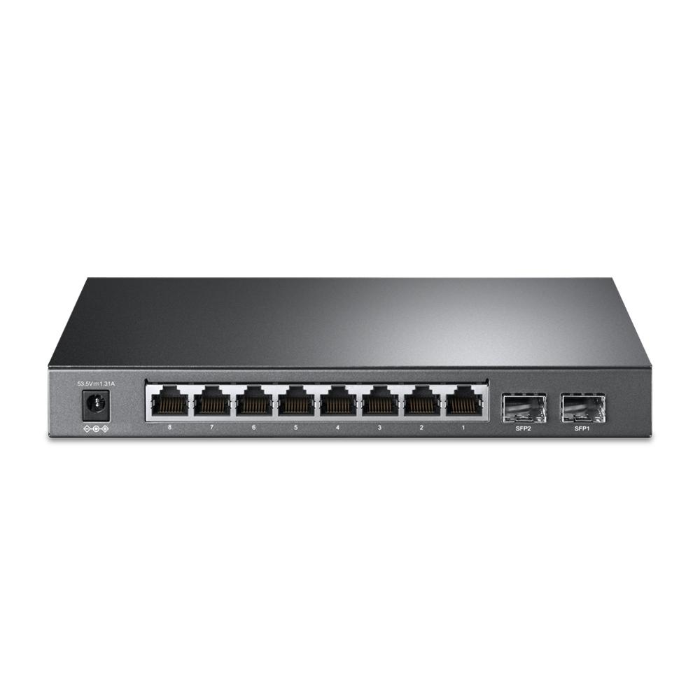 TL-SG2210P 8-poort Gigabit desktop PoE smart switch