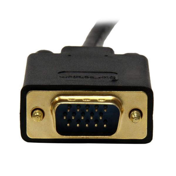 DisplayPort naar VGA Adapter Converter kabel (1,8 meter, zwart)
