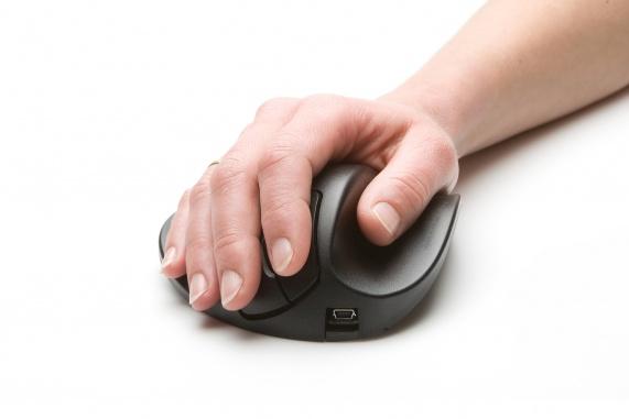 Hippus HandShoe Mouse (rechtshandig, USB)
