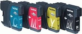 LC1100HY inkjetcartridges (valuepack, 4 kleuren)