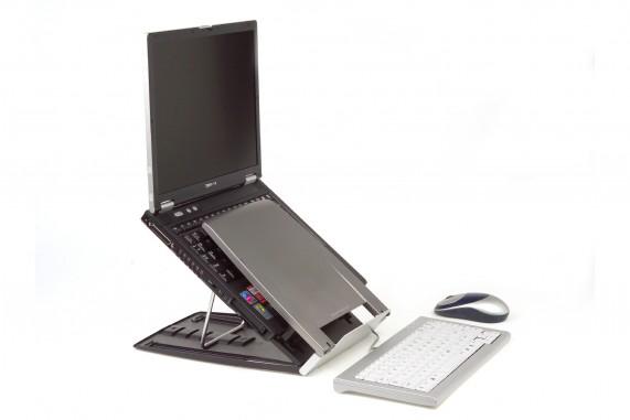 Ergo-Q 330 Notebook stand (met documentenhouder)