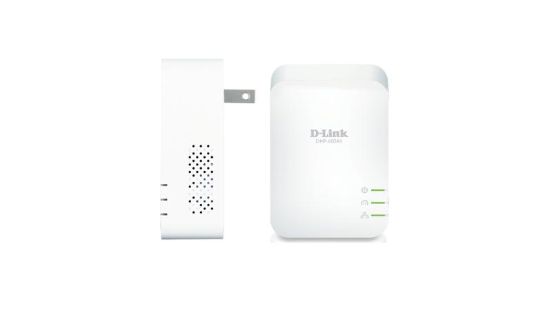 DHP-P601AV/E PowerLine AV2 1000 HD Gigabit Passthrough Kit (HomePlug AV HPAV 2.0, IEEE 1901, wall-pluggable)