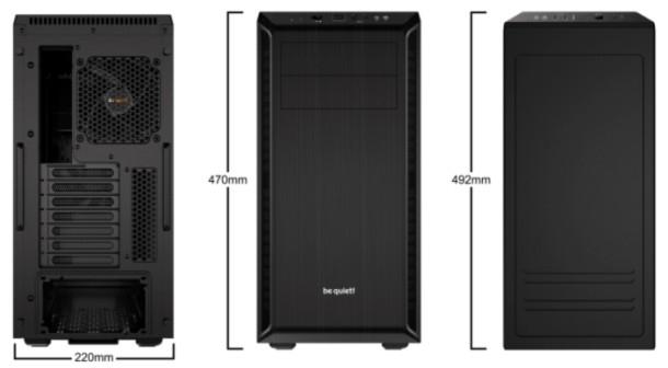 Pure Base 600 Case (zwart)