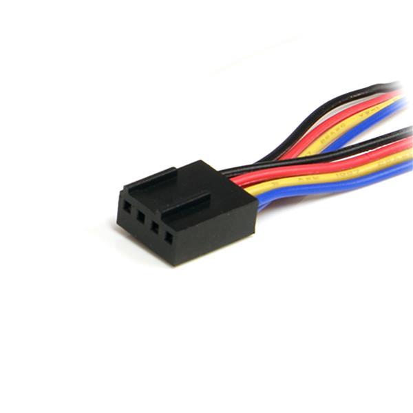 4-Pin Fan Power Splitterkabel F/M (30 cm)