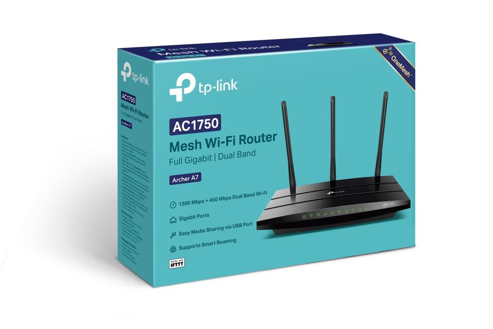 Archer A7 AC1750 Wireless Dual Band Gigabit Router