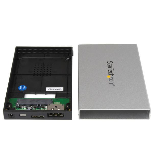 eSATA/USB 3.0 External S-ATA 3 Gbps Hard Drive Enclosure (UASP)