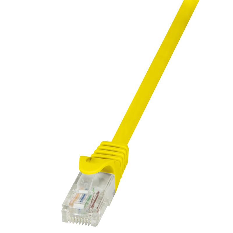 CP2067U ECO Patchkabel Cat.6 U/UTP (3 m, geel)