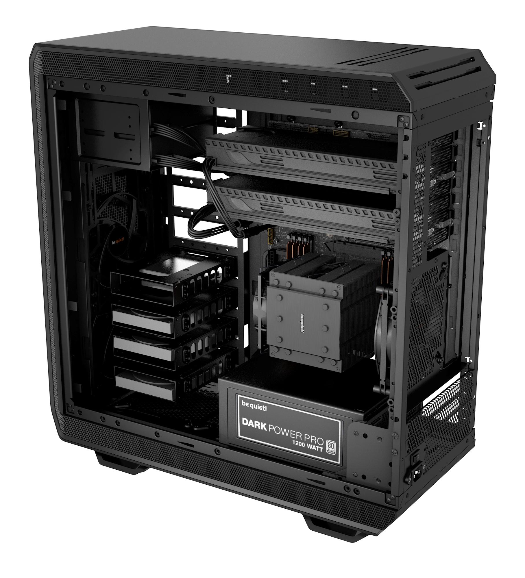 Dark Base 900 Case (High End, zwart)