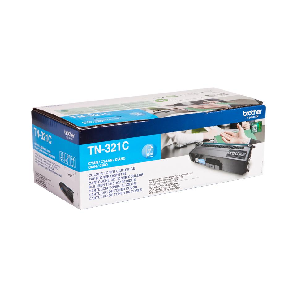 TN-321C toner cyaan (1500 afdrukken)