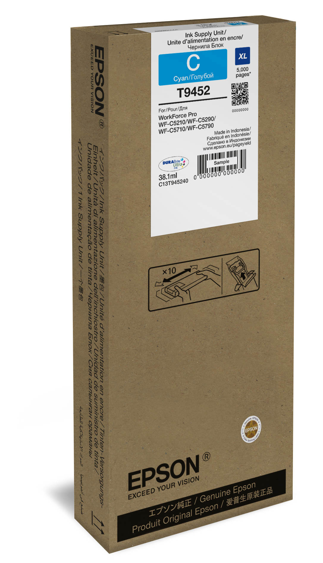T9452 inkjetcartridge cyaan (38,1 ml)