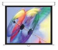 """Panoview Pull Down Manual DS-3100PMG+ Projection screen (100"""", 254 cm, 4:3, mat wit)"""