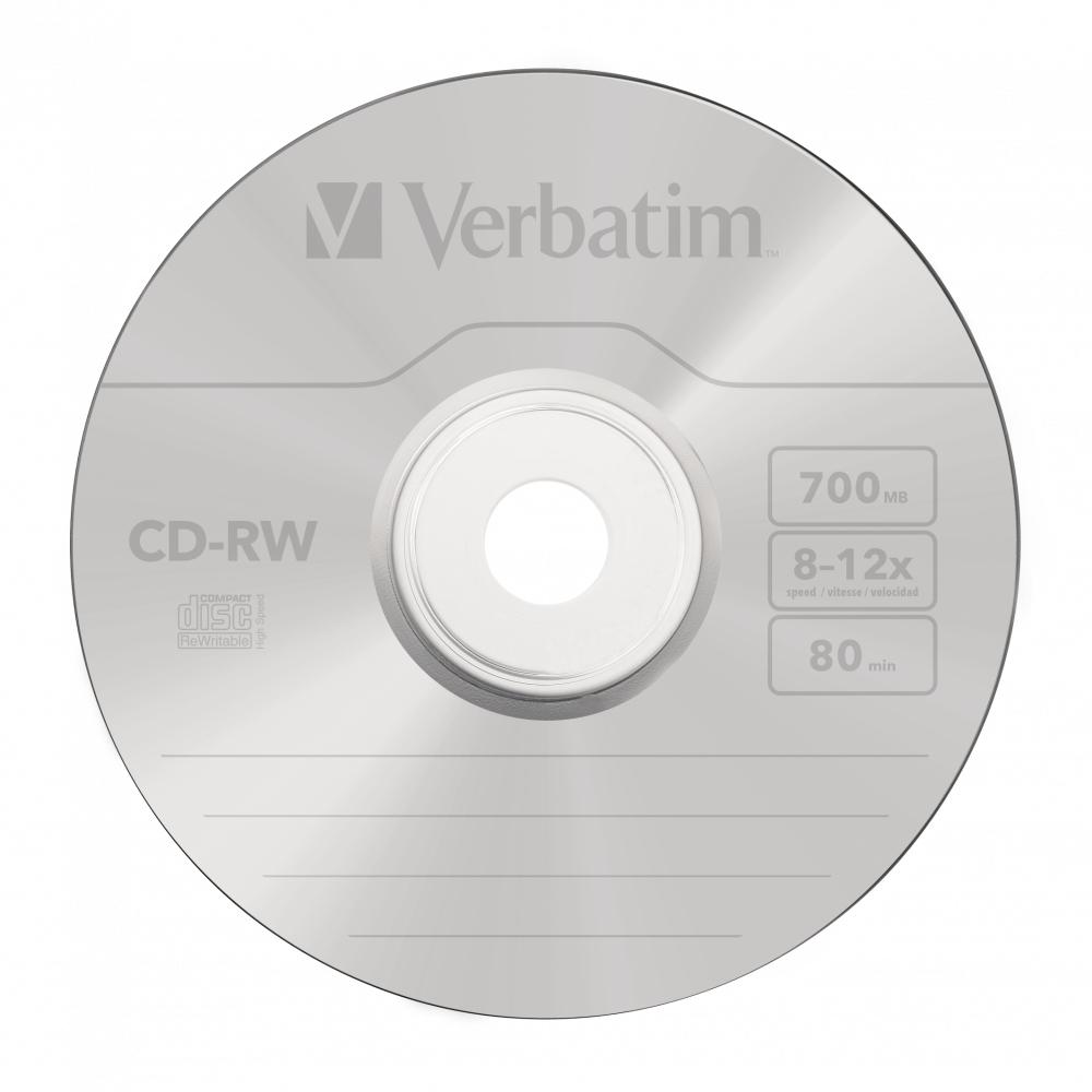 CD-RW 700 MB 10 speed (10-pack jewelcase)