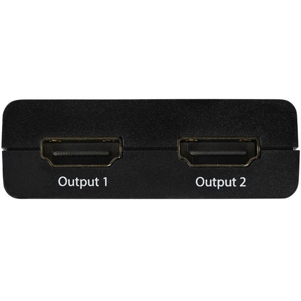 4K HDMI 2-poort video splitter (USB-powered)